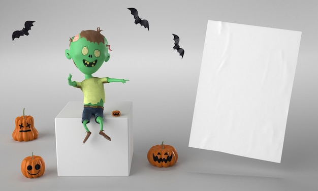 Dekoracje hulka na halloween