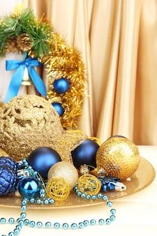 Dekoracje świąteczne z bliska