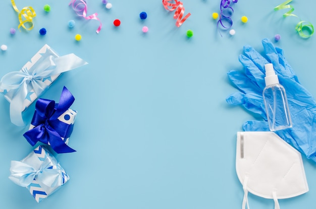 Dekoracje urodzinowe i sprzęt medyczny