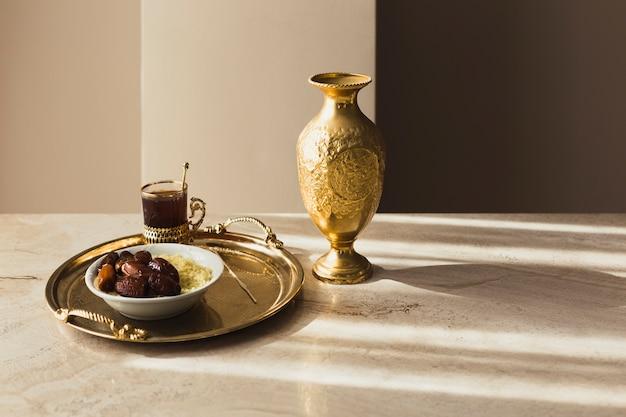 Dekoracyjna koncepcja ramadan