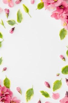 Dekoracyjna rama kwiatowa
