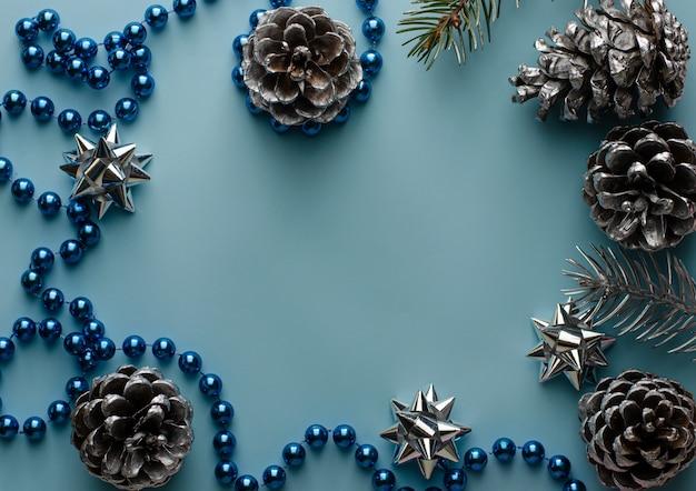Dekoracyjna rama świąteczna lub noworoczna