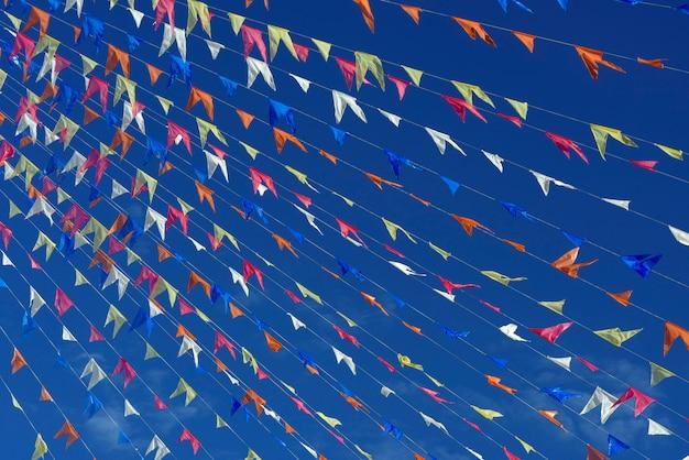 Dekoracyjne proporczyki festas juninas
