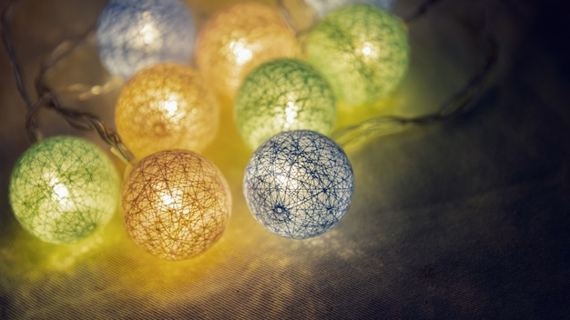 Dekoracyjne światła led na imprezę, boże narodzenie, szczęśliwego nowego roku, uroczysty, wydarzenie, wszystkiego najlepszego, uroczystości, gratulacje projekt