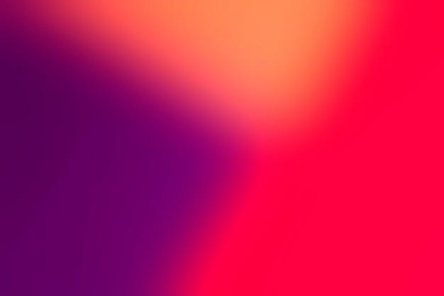 Delikatne przejście kolorów