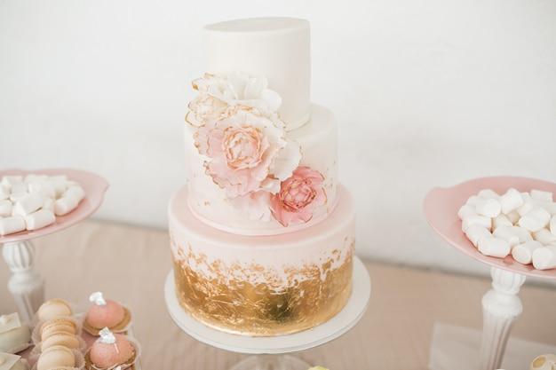 Desery stołowe weselne