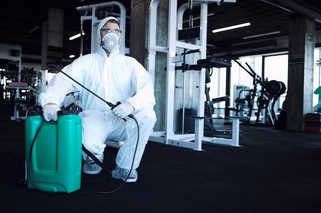 Dezynfekcja siłowni i opieka zdrowotna
