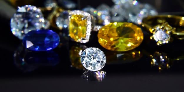 Diament biżuterii