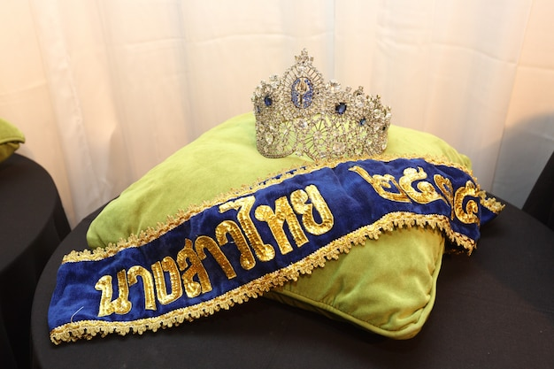 Diamentowa korona konkurs miss korony miss