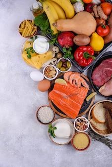 Dieta śródziemnomorska zdrowa, zbilansowana żywność