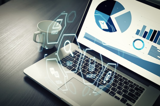 Digital marketing media search engine startowy projekt seo