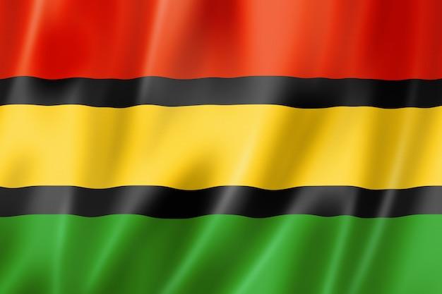 Dinka flag etnicznych ludzi, afryka