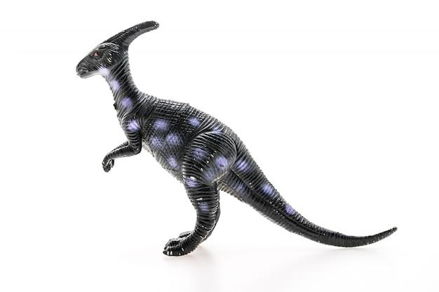 Dinozaur z długimi głowy