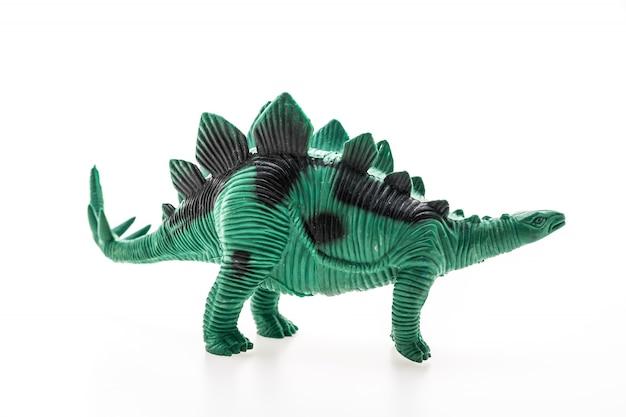 Dinozaur z kolcami na plecach