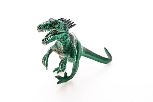 Dinozaur z otwartymi ustami