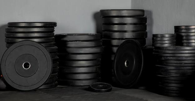 Discos de peso para barra de gimnasio de crossfit