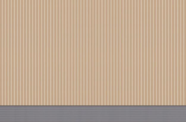 Długie szczupłe pionowe panele drewniane ściany tło.