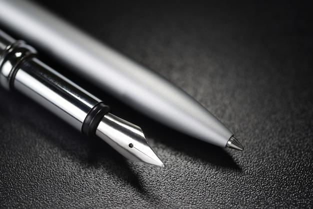 Długopis i wieczne pióro
