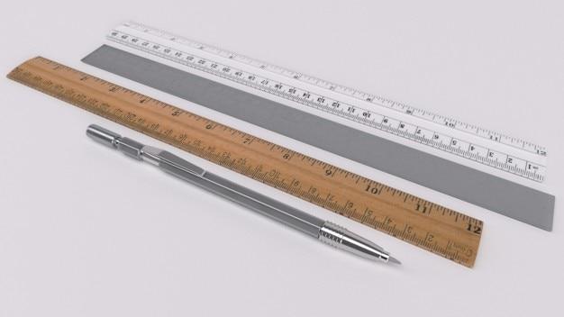 Długopis i zasady