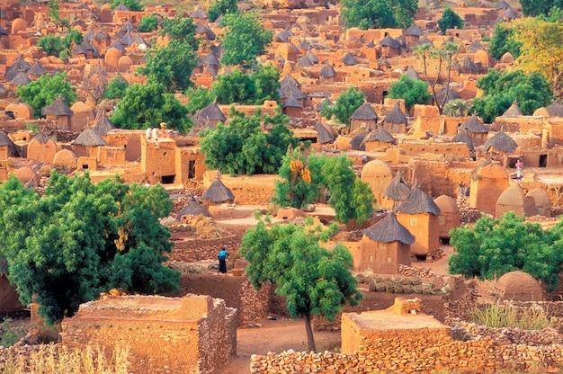 Dogon village of songo w mali
