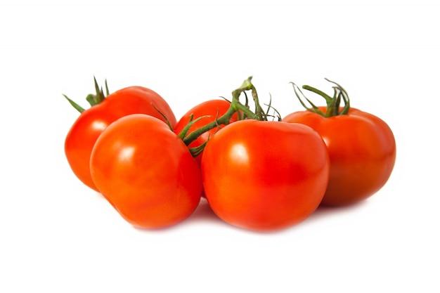 Dojrzałe czerwone pomidory