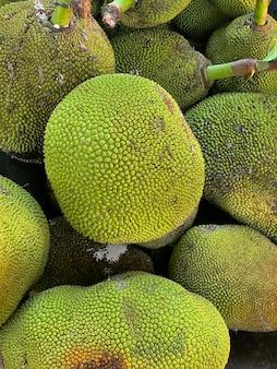 Dojrzałe jackfruits