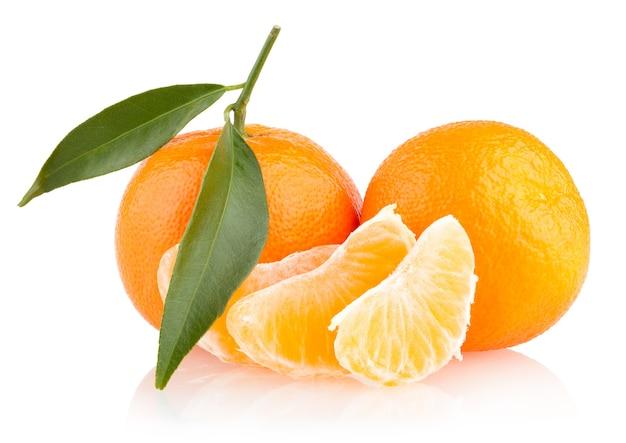 Dojrzałe mandarynki