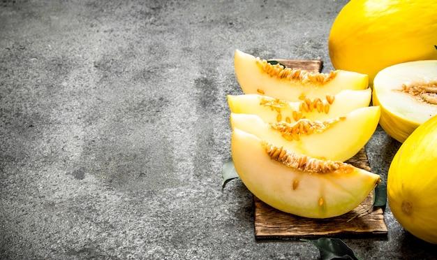 Dojrzały melon.