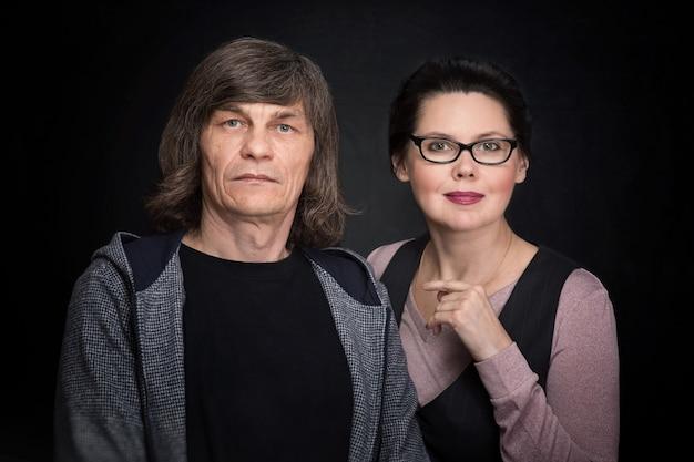 Dojrzały mężczyzna i kobieta