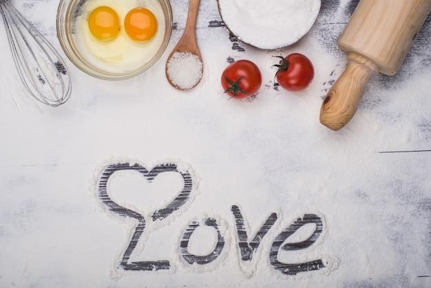 Dokonywanie deserów w kuchni