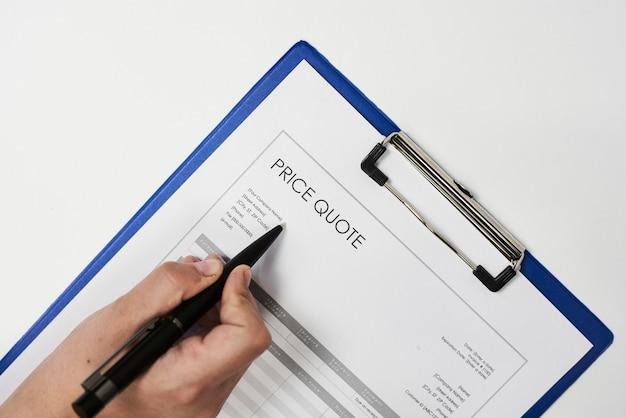 Dokument oferty cenowej