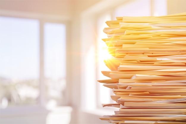 Dokumenty przypisanie oceny księgowej tło biurokracja zajęta