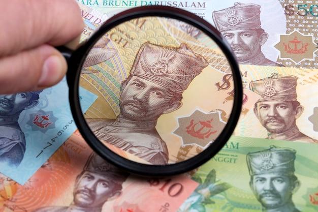 Dolar brunei w lupie