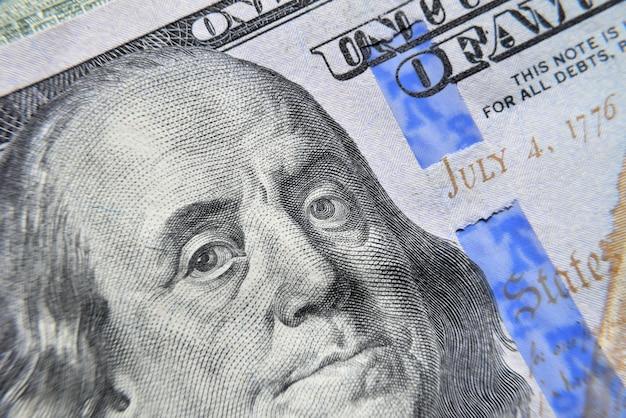 Dolar usa franklin oczy makro.