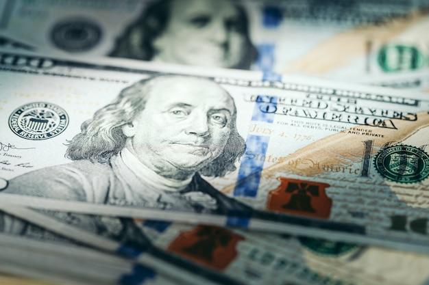 Dolar usa z bliska.