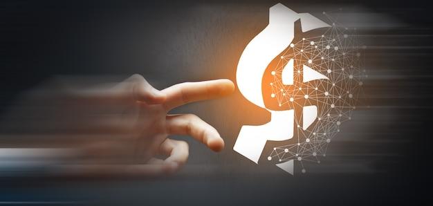 Dolar waluta biznes bankowość finanse technologia