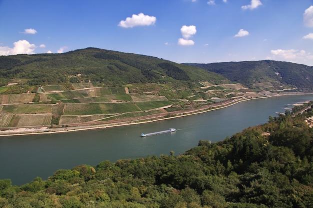 Dolina renu w zachodnich niemczech