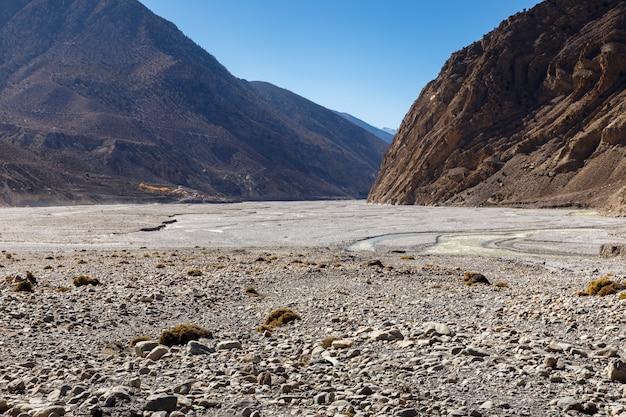 Dolina rzeki kali gandaki