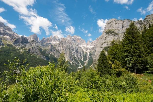 Dolomity natura