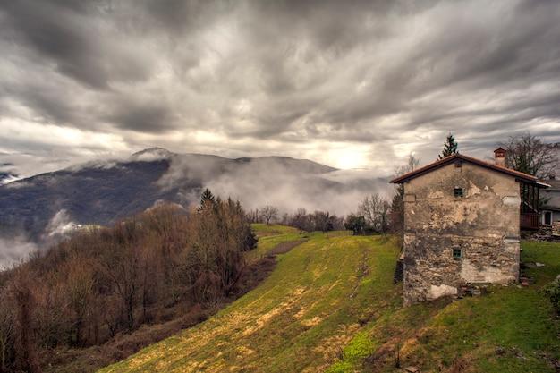 Dom wiejski w słoweńskiej wsi