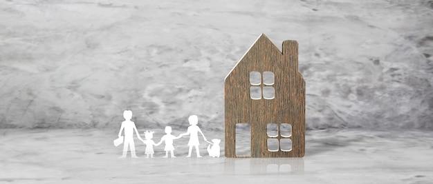 Dom wzorcowy. koncepcja wynajmu, kupna i sprzedaży nieruchomości. usługi pośrednictwa w obrocie nieruchomościami, naprawa i konserwacja budynków