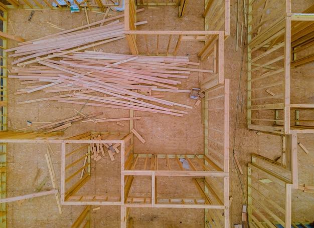Dom z belek drewnianych