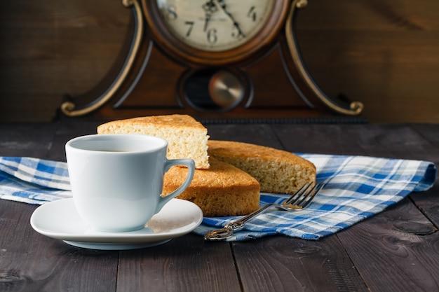 Domowa wieczorna kawa