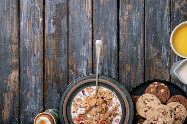 Domowe chrupiące śniadanie