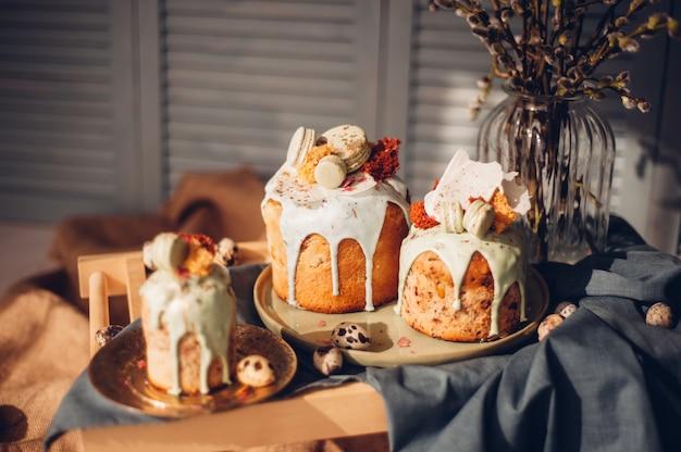 Domowe ciasta wielkanocne.