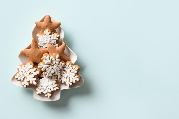 Domowe ciasteczka w kształcie talerza świąteczne gratis