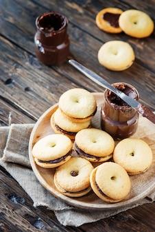 Domowe ciasteczka z czekoladą