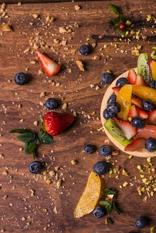 Domowe ciasto owocowe