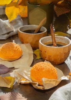 Domowe ciasto profiteroles z kremem francuskim