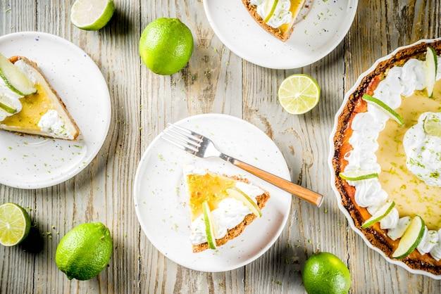 Domowe ciasto z limonki